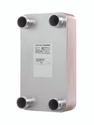 Паяные пластинчатые теплообменники широко применяются в холодильных установках
